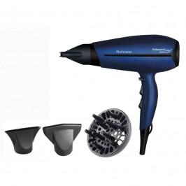 Fén Rohnson R-677 čierny/modr... Profesionální vysoušeč vlasů, 2 rychlosti, 3 stupně teploty, funkce ionizace.