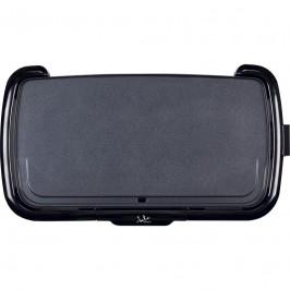 Gril  Jata GR217 čierny... Příkon 2200 W, deska o rozměru 55 x 26 cm, odnímatelný termostat.