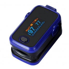 Pulzný oximeter Rohnson A310 Blue modr... Pulzní oxymetr na prst, lehký, snadno přenosný, 6 režimů zobrazení, modrý.