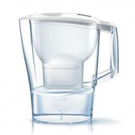 Filtrácia vody Brita Aluna Memo biela... Technologie FlowControl filtračních patron Brita Maxtra se čtyřstupňovou filtrací, celkový objem konvice je 2