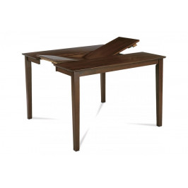 AUTRONIC AUB-200 WAL jedálenský stôl rozkl. 136+45x91x75 cm, farba orech