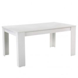 TEMPO KONDELA Jedálenský stôl, biela, 160, TOMY NEW
