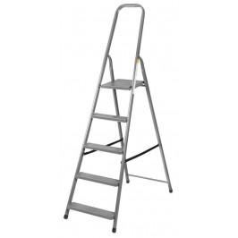 Schodiky Strend Pro ST-D6, 6 stupňové, oceľové, 197 cm, nosn. 125 kg