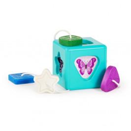 BABY EINSTEIN Hračka senzorická vkladacia Match & Grasp Block™ 6m+