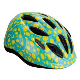 HAMAX Cyklohelma Skydive Green/Yellow 45-50