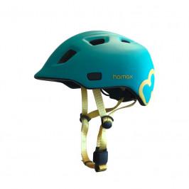 HAMAX Cyklohelma Thundercap Turquoise/Yellow 47-52