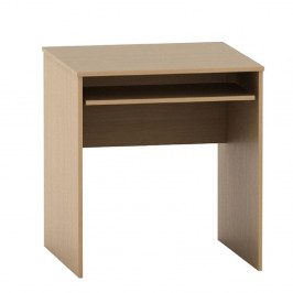 TEMPO KONDELA Písací stôl s výsuvom, buk, TEMPO ASISTENT NEW 023
