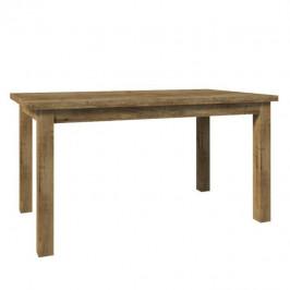 TEMPO KONDELA Jedálenský stôl, rozkladací, dub lefkas tmavý, MONTANA STW