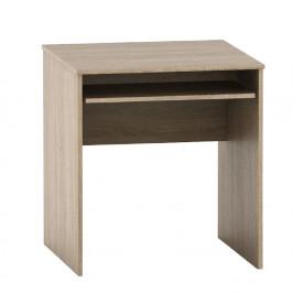 TEMPO KONDELA Písací stôl s výsuvom, dub sonoma, TEMPO ASISTENT NEW 023