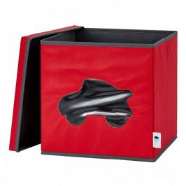 LOVE IT STORE IT ULOZNY BOX NA HRACKY S KRYTOM A OKIENKOM - AUTO, LI-670247