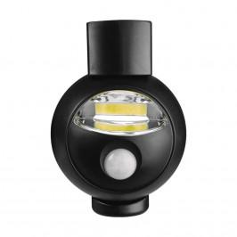 EMOS P3312 NOCNE SVIETIDLO 3W LED COB CIERNE