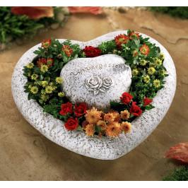 Kvetinová nádoba Srdce, duo