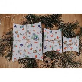 Be Nice Detské vianočné krabičky na balenie (3 ks)
