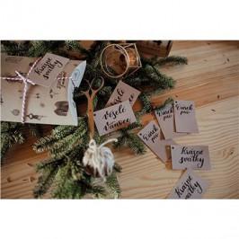 Be Nice Vianočné menovky (10 ks)