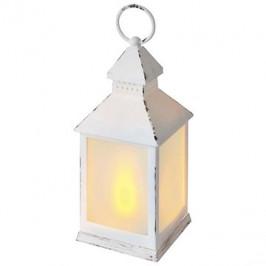 EMOS LED dekorácia – lampa mliečna biela, vintage