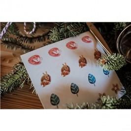 Be Nice Vianočné samolepky – Detské (32 ks)
