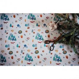 Be Nice Detský vianočný baliaci papier veľký (3 ks)