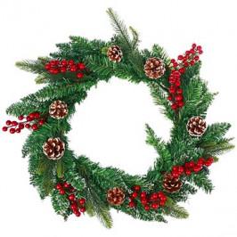 Vianočný dekoratívny veniec typ 600-30204