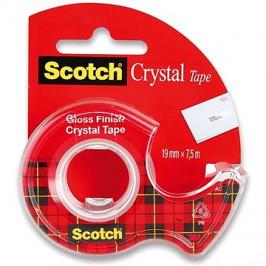 3M Scotch 19 mm × 7,5 m, kryštalicky číra
