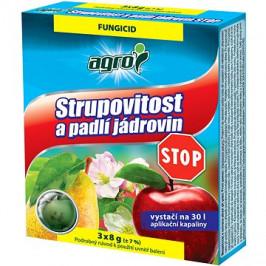 AGRO Proti chrastovitosti a múčnatke jabloní STOP 3× 8 g