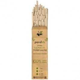 PANDOO Jednorazová bambusová slamka 50 ks