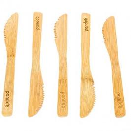 PANDOO Bambusový nôž sada 5 ks