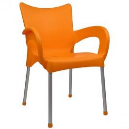 MEGAPLAST  DOLCE plast, AL nohy, oranžová