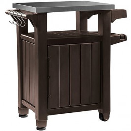 KETER UNITY 105 L hnedá multifunkčný úložný stôl