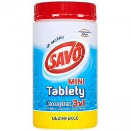 SAVO Chlórové tablety mini komplex 3v1 0,8 kg