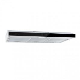 Klarstein Contempo 90, digestor, 175 m³/hod., LED, ušľachtilá oceľ, akryl, čierny