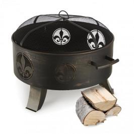 Blumfeldt Versailles, ohnisko, nádoba na oheň, Ø 60 cm, oceľ, čierne