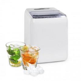 Klarstein Coolio ľadomat, priehľadný ľad, 20kg/24h, nádržka na vodu: 2,8 l, biely