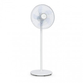"""Klarstein Windflower, stojanový ventilátor, 5 lopatiek (15""""/38,5 cm), 50 W, biely"""
