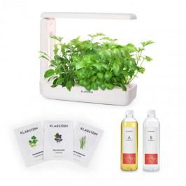 Klarstein GrowIt Cuisine Starter Kit Asia, 10 priesad, 25 W LED, 2 l, Asia Seeds, živný roztok