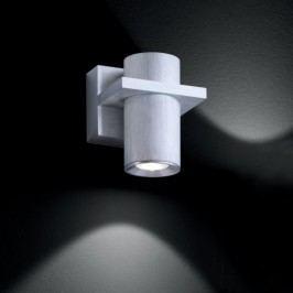 HONSEL LERA 28761 nástenné svietidlo strieborné s LED