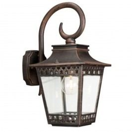 Philips HEDGE 15401/86/16 záhradné nástenné svietidlo