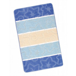 Kúpeľňová predložka 60x100cm modrý orion