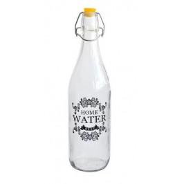 TORO Fľaša sklenená s uzáverom, 950 ml, potlač