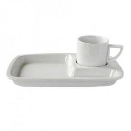 TORO Porcelánova raňajková šálka s tanierikom TORO