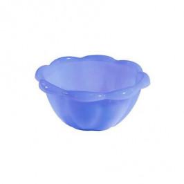 Tontarelli Miska plast Tontarelli; 0,4 l; modrá transparentná