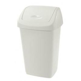 Tontarelli Plastový kôš na odpadky TONTARELLI Aurora 9l biely