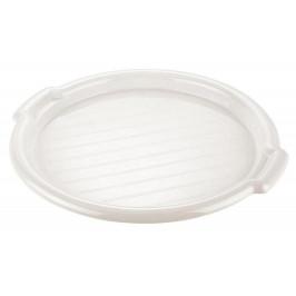 Tontarelli Podnos Tontarelli okrúhly, plast, biely