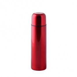 TORO Nerezová termoska TORO so stop ventilom 0,75l, červená