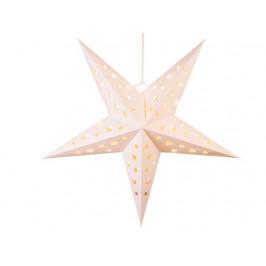 TORO Papierová vianočná hviezda 4LED TORO 60cm