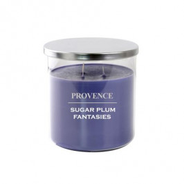 Provence Vonná sviečka v skle PROVENCE 1kg Sugarplum 3 knôty
