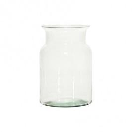 DUIF Sklenená váza BOSE 25,5cm