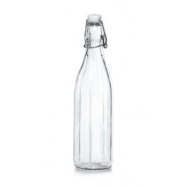 CERVE Sklenená fľaša s patentným uzáverom CERVE 500ml HELLO SUMMER COCO