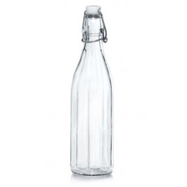 CERVE Sklenená fľaša s patentným uzáverom CERVE 1l