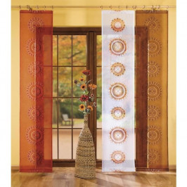 Vavex Závesový Panel s dekorom Aztek  60 x 245 cm hnedá