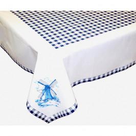 Forbyt, Obrus, Mlyn s lemom, modrý, 120 x 140 cm